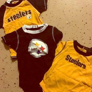 Other - Steelers onesies